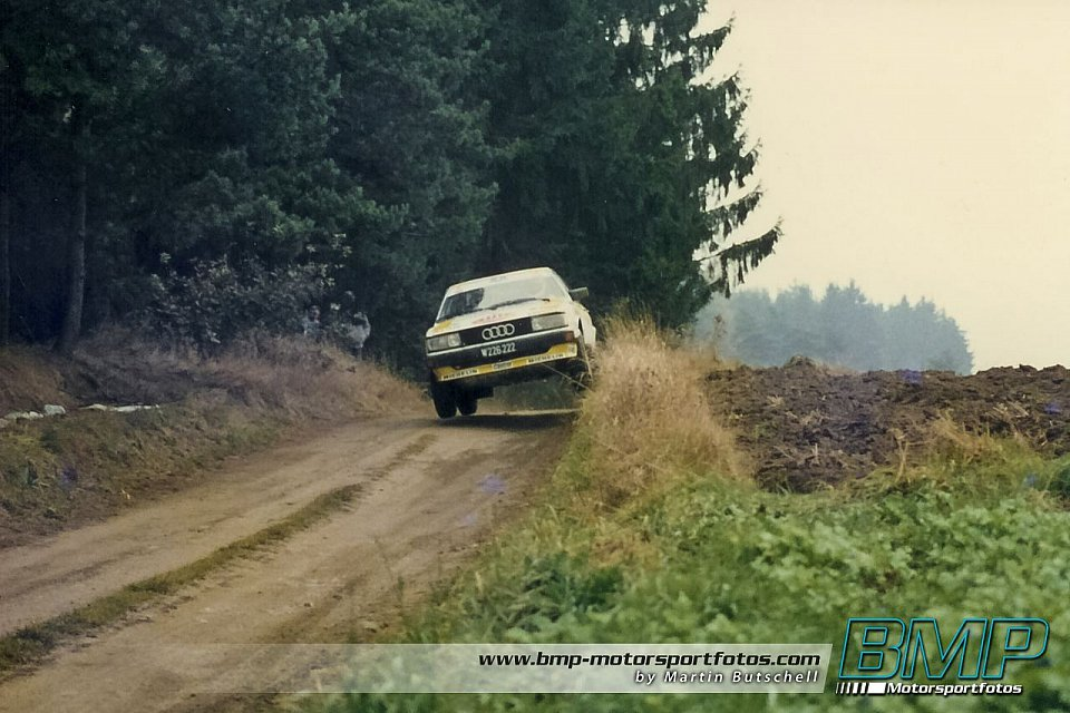 Audi S1 Semperit Rallye 1985 Archiv Fotos Bmp